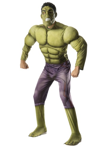 Adult Deluxe Hulk Avengers 2 Costume By: Rubies Costume Co. Inc for the 2015 Costume season.