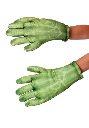 Click Here to buy Hulk Gloves for Kids from HalloweenCostumes, USA Funds & Shipping