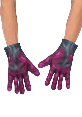 Click Here to buy Adult Vision Avengers 2 Gloves from HalloweenCostumes, USA Funds & Shipping