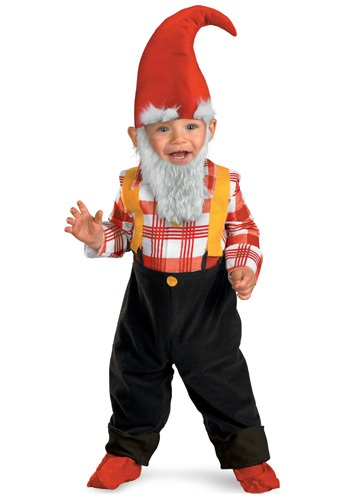 Image Toddler Garden Gnome Costume