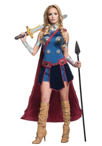 Click Here to buy Secret Wishes Deluxe Valkyrie Costume from HalloweenCostumes, USA Funds & Shipping