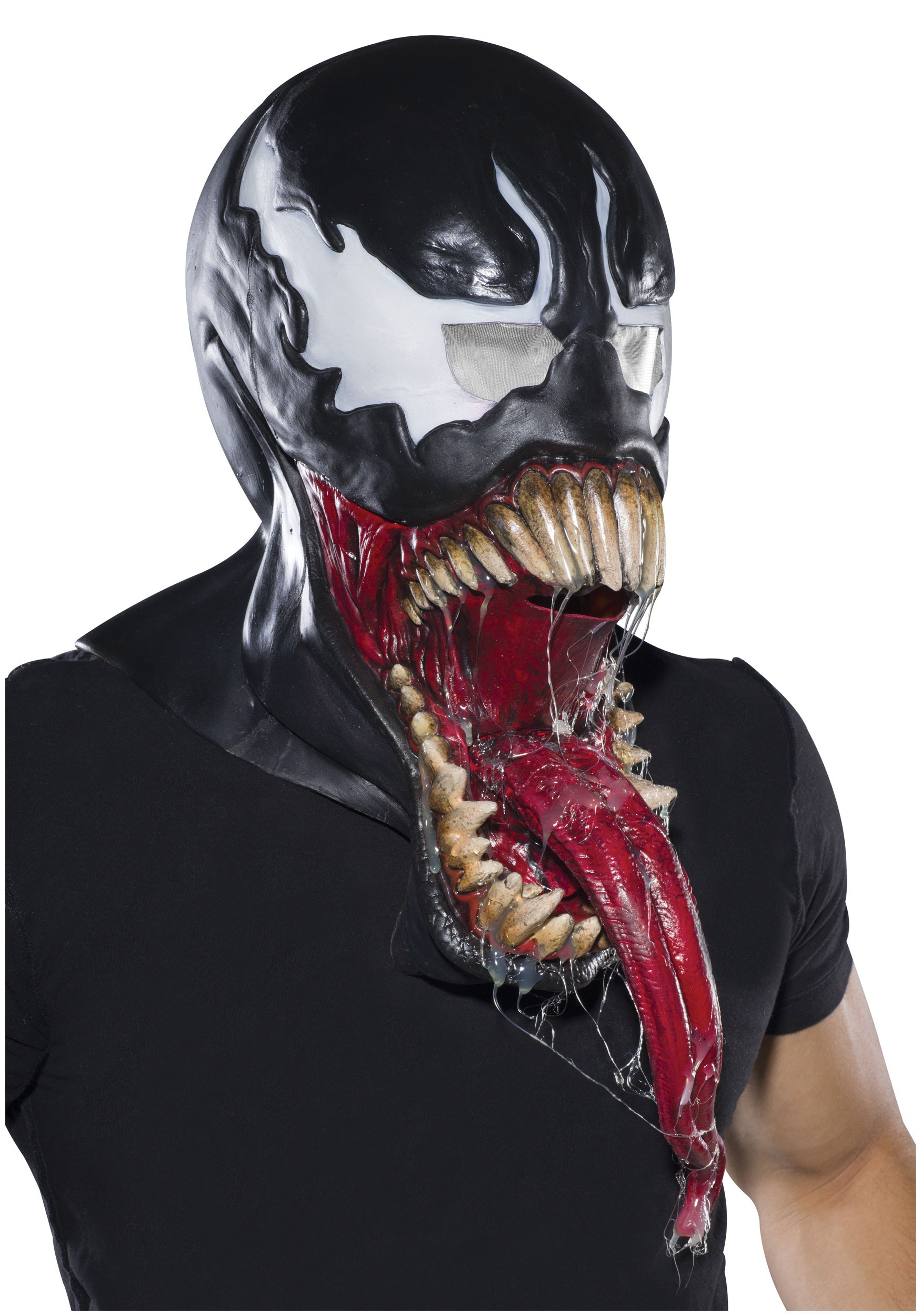 Adult Deluxe Venom Latex Mask RU68573