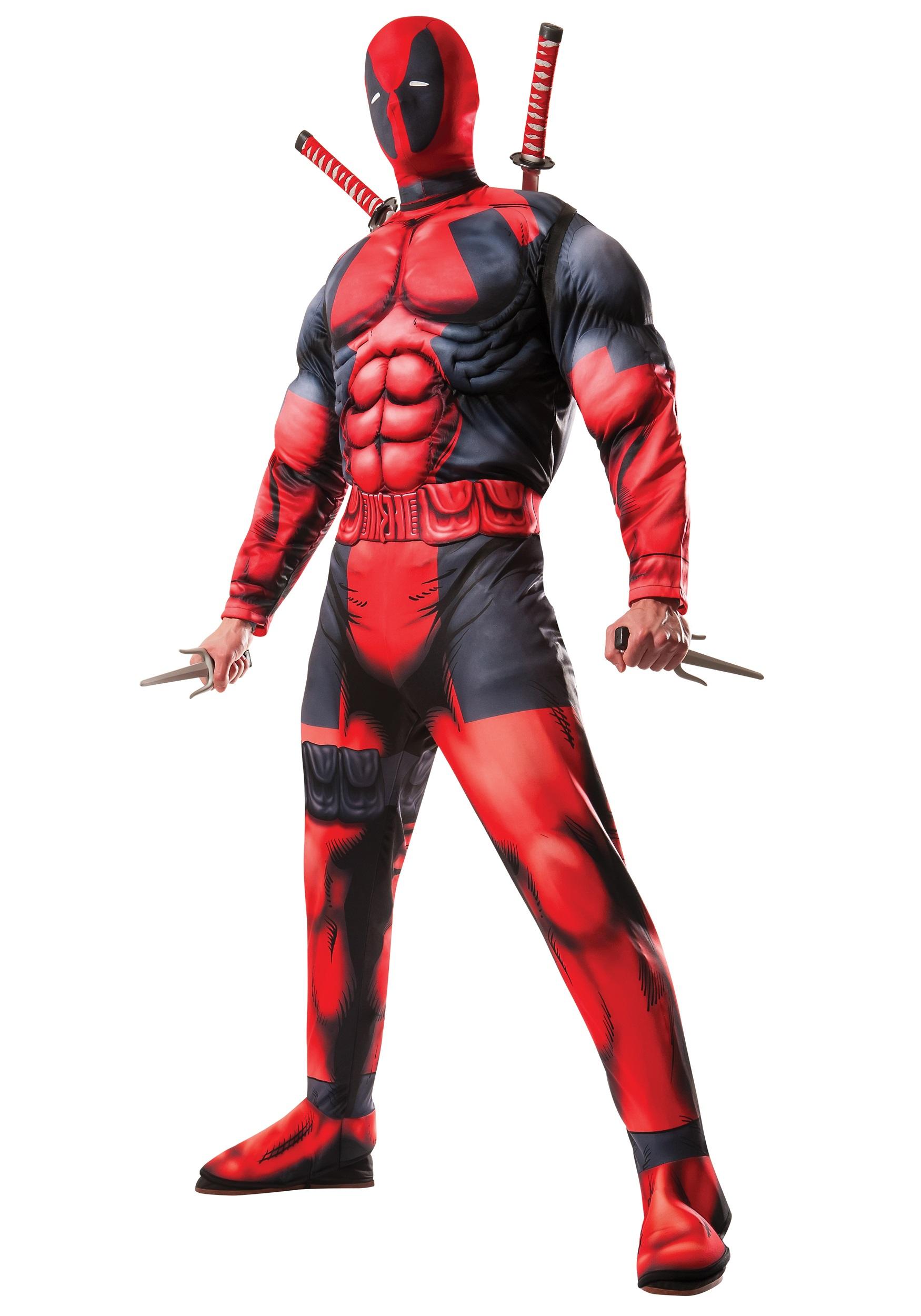 Adult Deadpool Costume RU810109