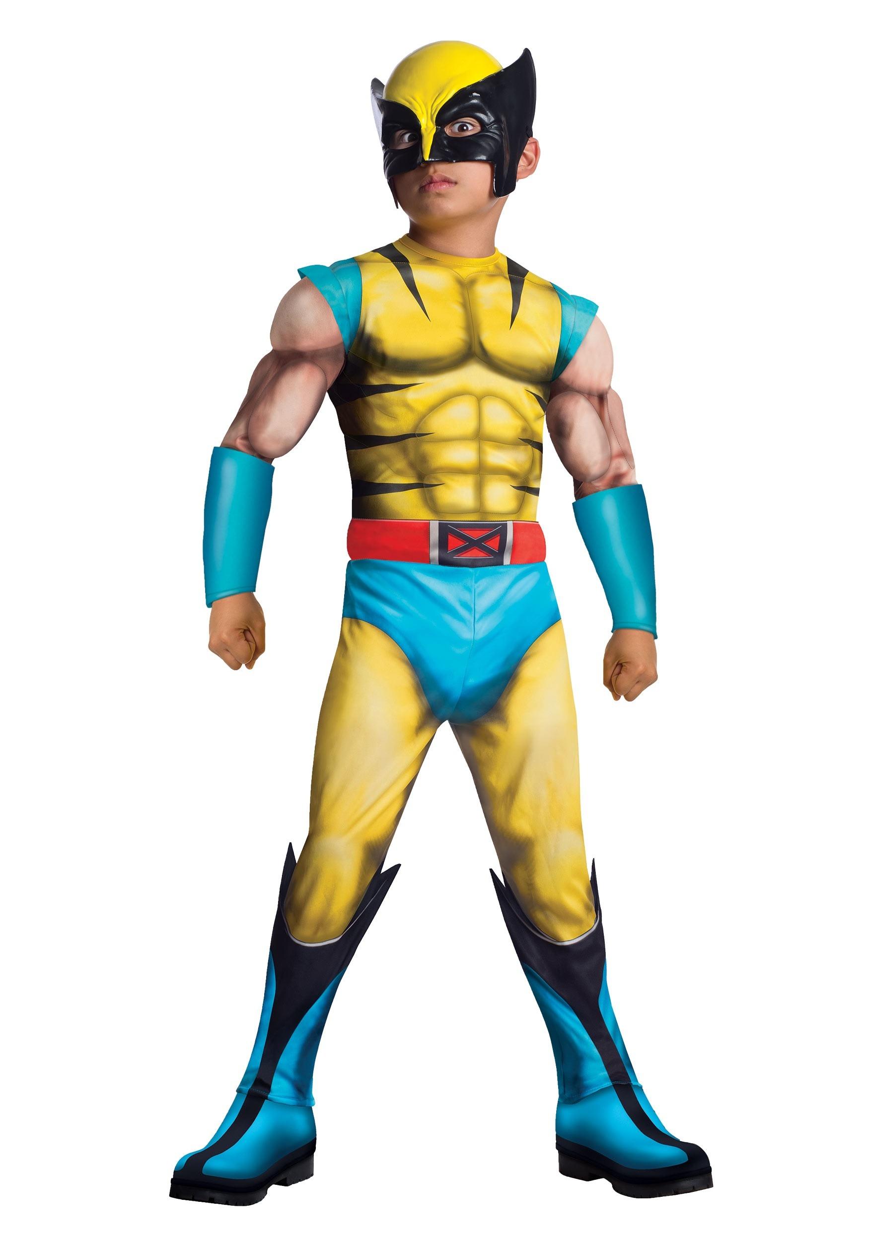sc 1 st  Halloween Costumes & Child Deluxe Wolverine Costume