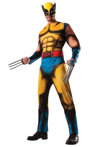 Adult Deluxe Wolverine Costume By: Rubies Costume Co. Inc for the 2015 Costume season.