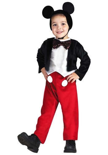 Deluxe Kids Mickey Mouse Costume - Mickey Mouse Costumes