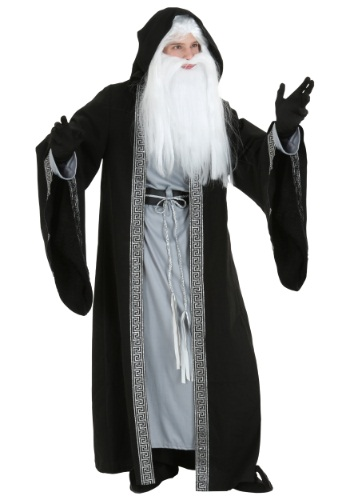 Deluxe Wizard Costume for Men