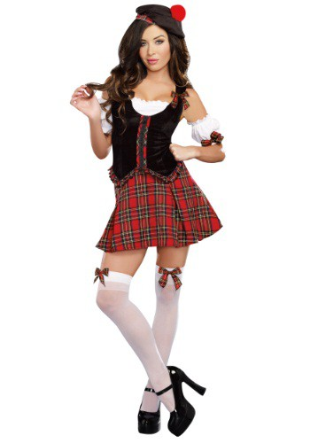 Scotty Hotty Women's Scottish Costume By: Dreamgirl for the 2015 Costume season.