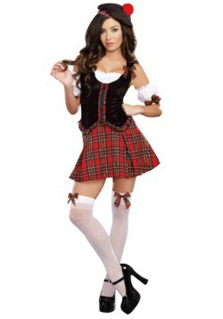 Scotty Hotty Women's Scottish Costume