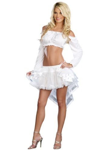 Hi-Low White Petticoat By: Dreamgirl for the 2015 Costume season.