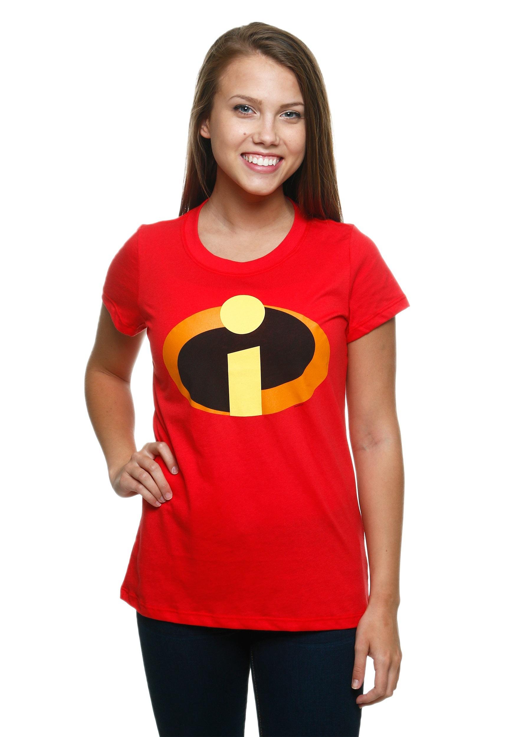 c5f34c23 Junior's Incredibles Logo T-Shirt