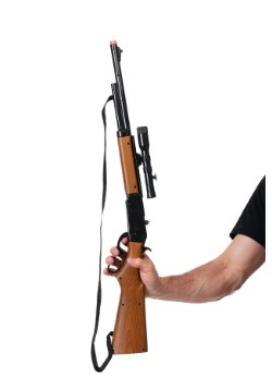 Toy Lever Action Repeater Rifle with Scope