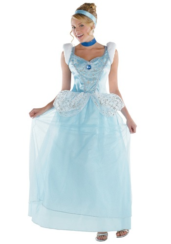 Click Here to buy Adult Cinderella Costume from HalloweenCostumes, USA Funds & Shipping