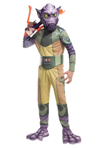 Star Wars Rebels Deluxe Child Zeb Costume RU610603