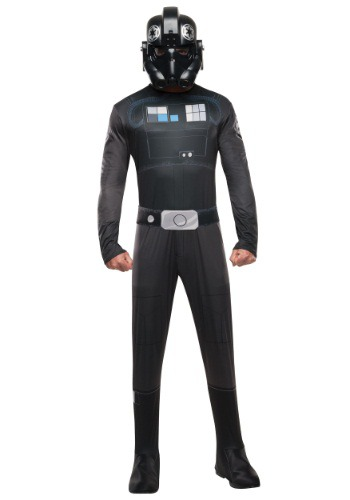 Click Here to buy Adult Tie Fighter Pilot Costume from HalloweenCostumes, USA Funds & Shipping