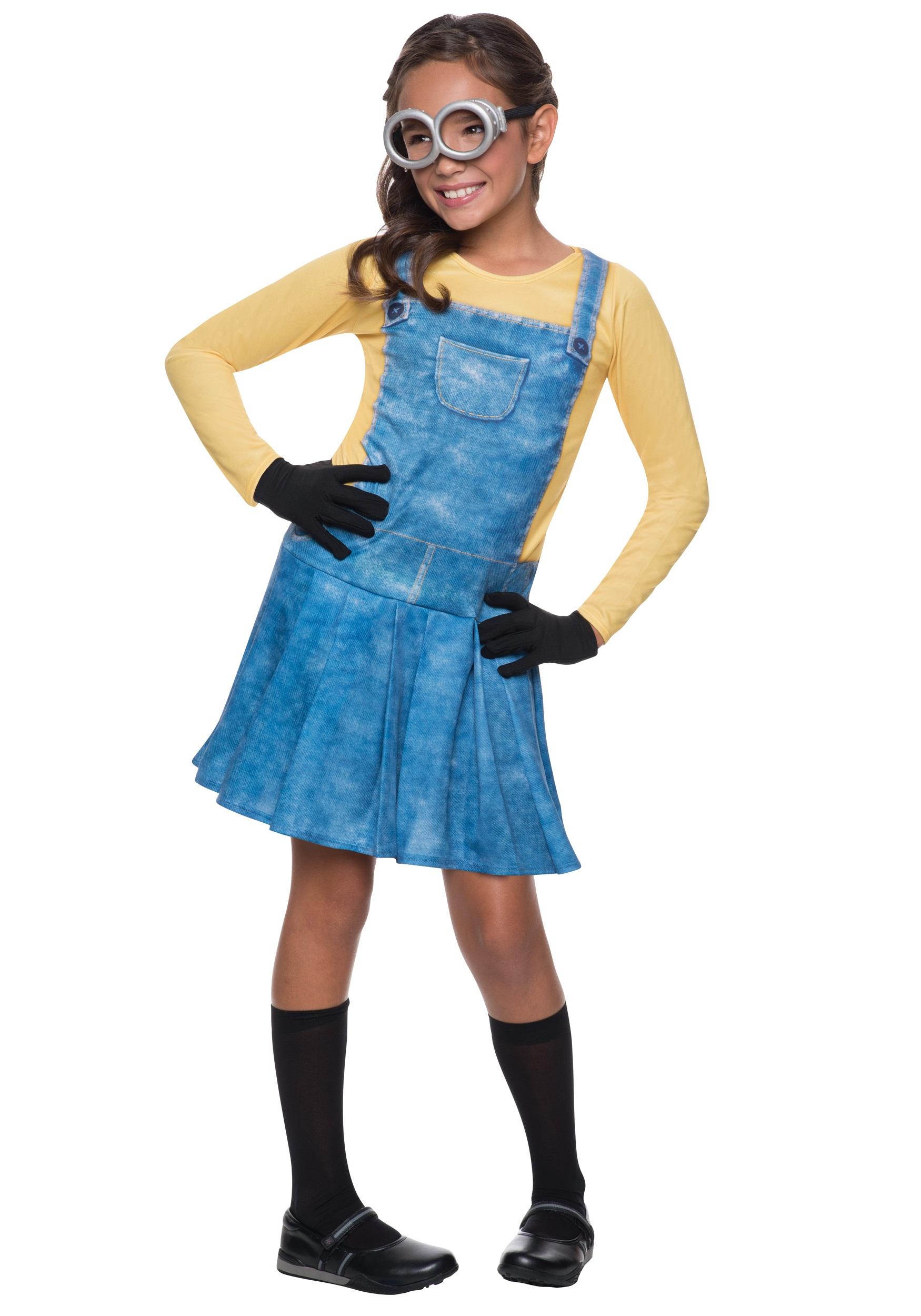 Child female minion costume - Costume halloween fille ...
