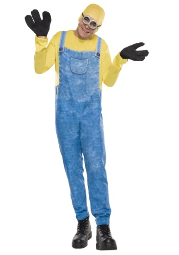 [Adult Minion Bob Costume] (Adult Minions Costumes)