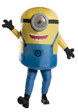 Adult Inflatable Minion Stuart Costume