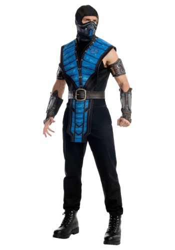 Click Here to buy Mortal Kombat X Adult Sub-Zero Costume from HalloweenCostumes, CDN Funds