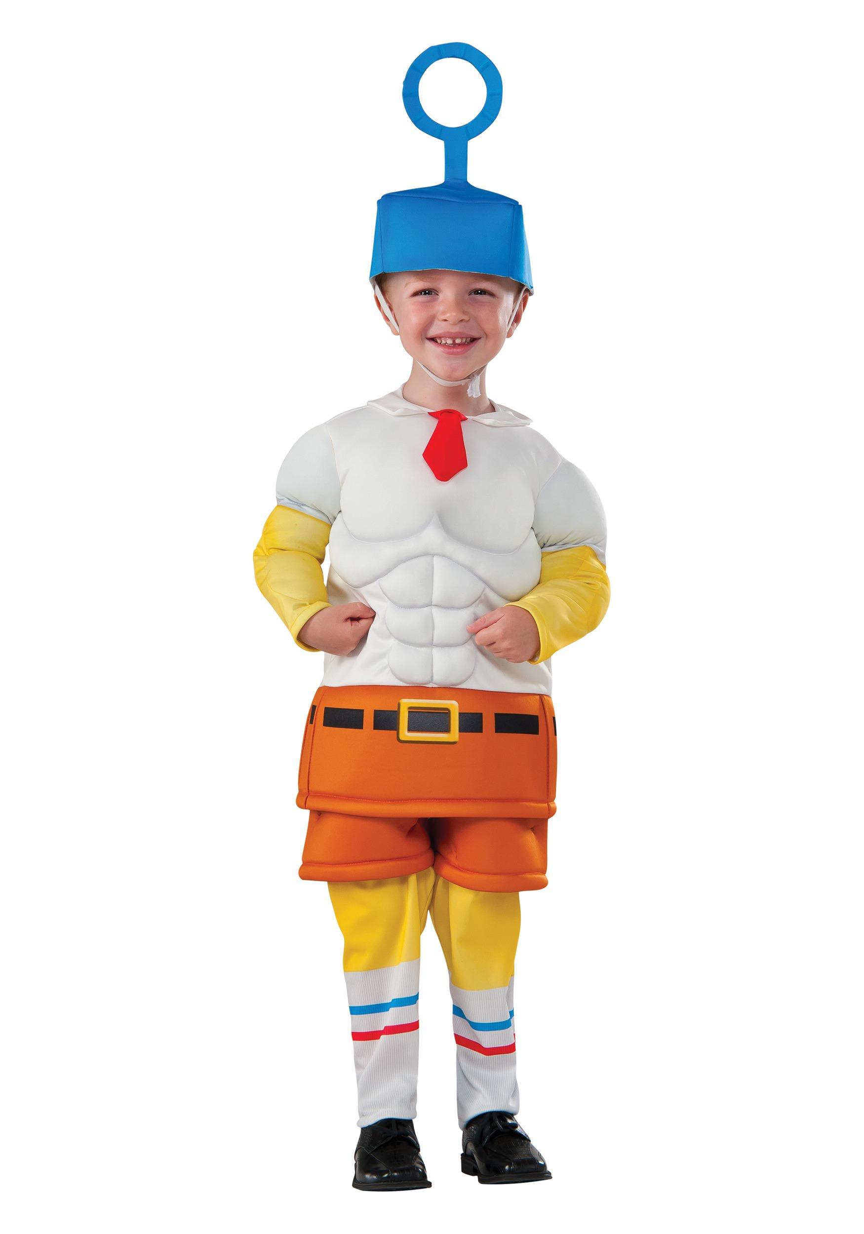 CHILD SPONGEBOB MOVIE COSTUME