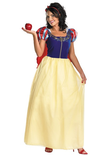 Click Here to buy Plus Size Deluxe Snow White Costume from HalloweenCostumes, USA Funds & Shipping