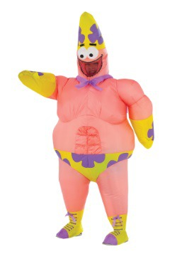 Adult Inflatable Patrick Star Movie Costume