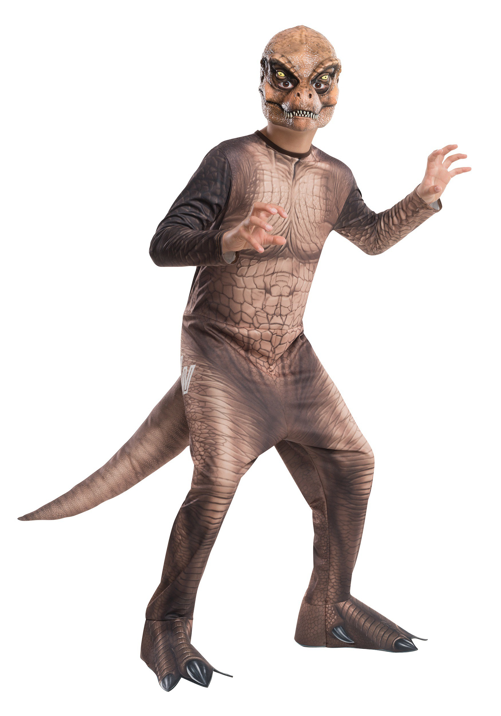 child jurassic world t rex costume
