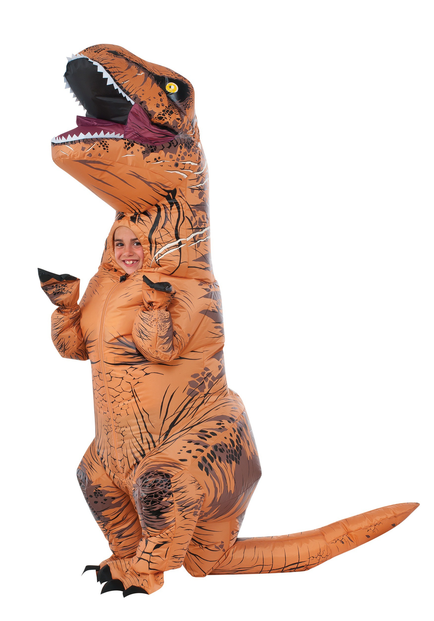 child inflatable jurassic world t rex costume