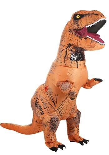 Adult Inflatable Jurassic World T-Rex Costume By: Rubies Costume Co. Inc for the 2015 Costume season.