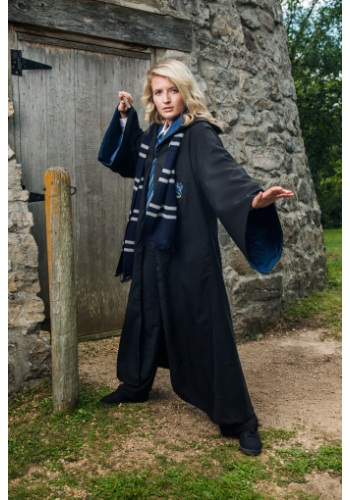 Replica Adult Ravenclaw Robe By: Rubies Costume Co. Inc for the 2015 Costume season.