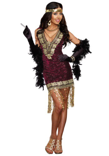 Sophisticated Lady Flapper Costume By: Dreamgirl for the 2015 Costume season.