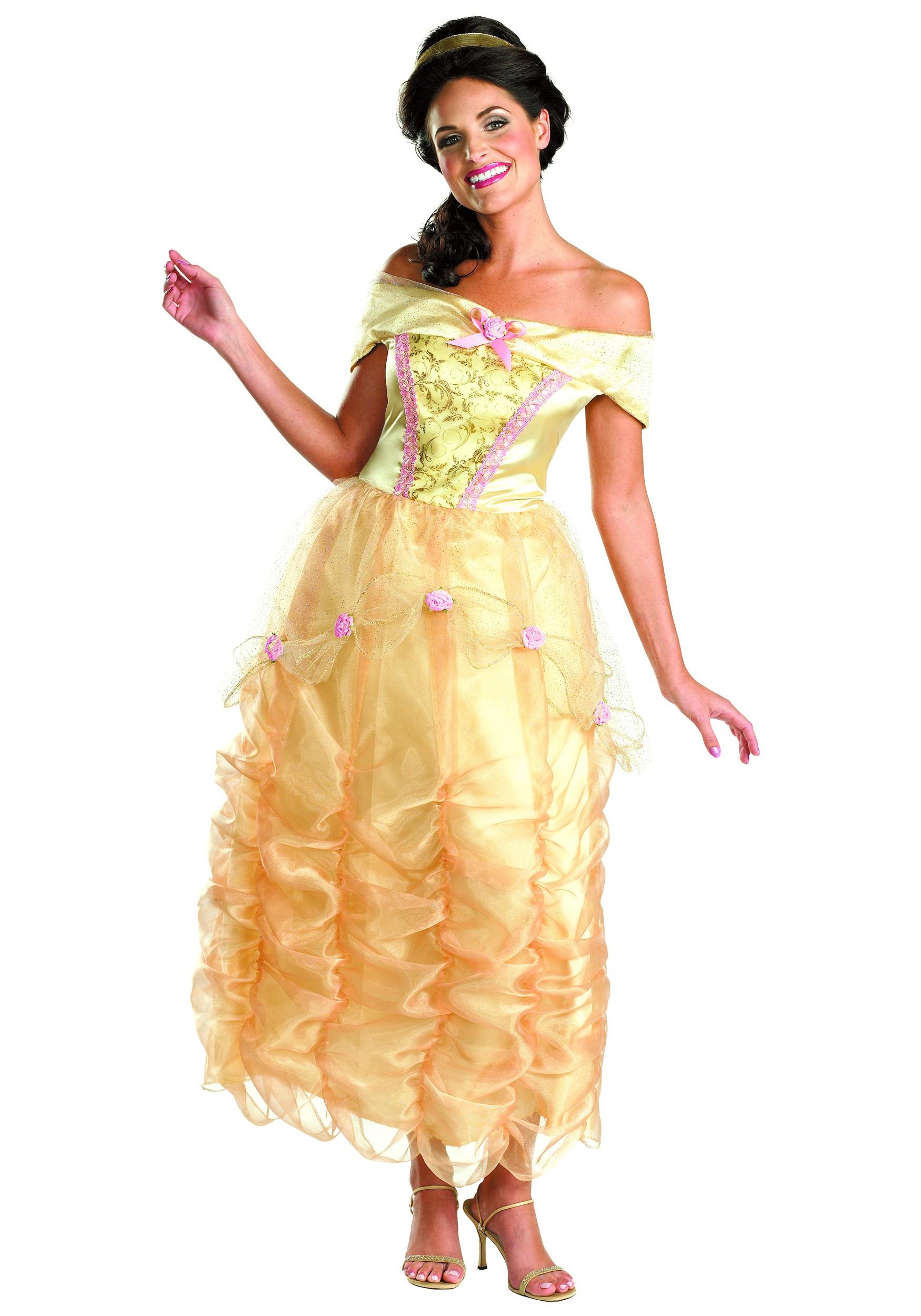 Adult Belle Costume. Product Description