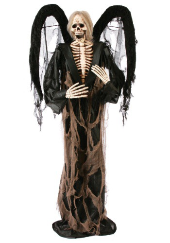 72 inch Black Winged Gruesome Greeter