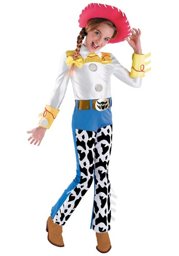 Click Here to buy Kids Toy Story Jessie Costume from HalloweenCostumes, USA Funds & Shipping