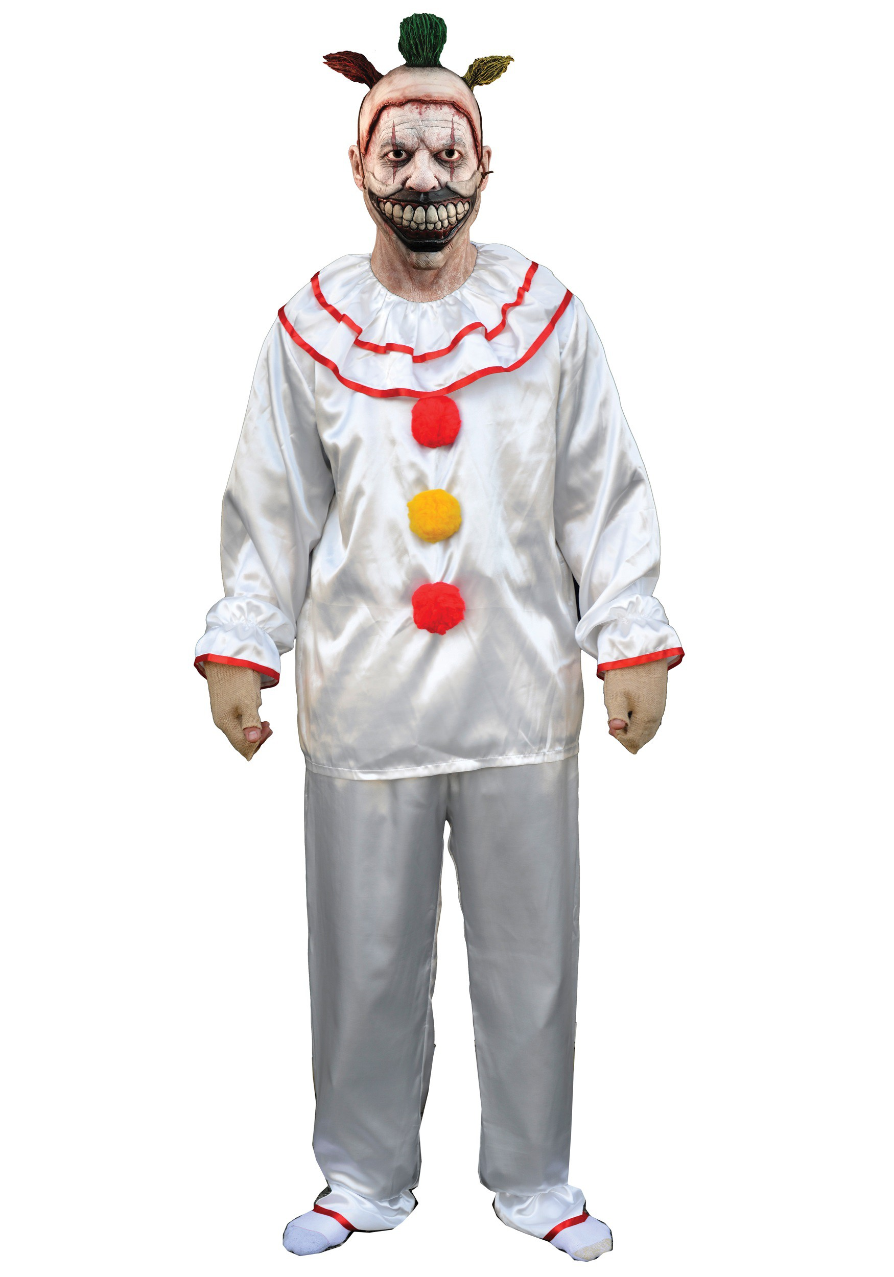 clown costumes adult kids clown halloween costume american horror story adult twisty the clown costume