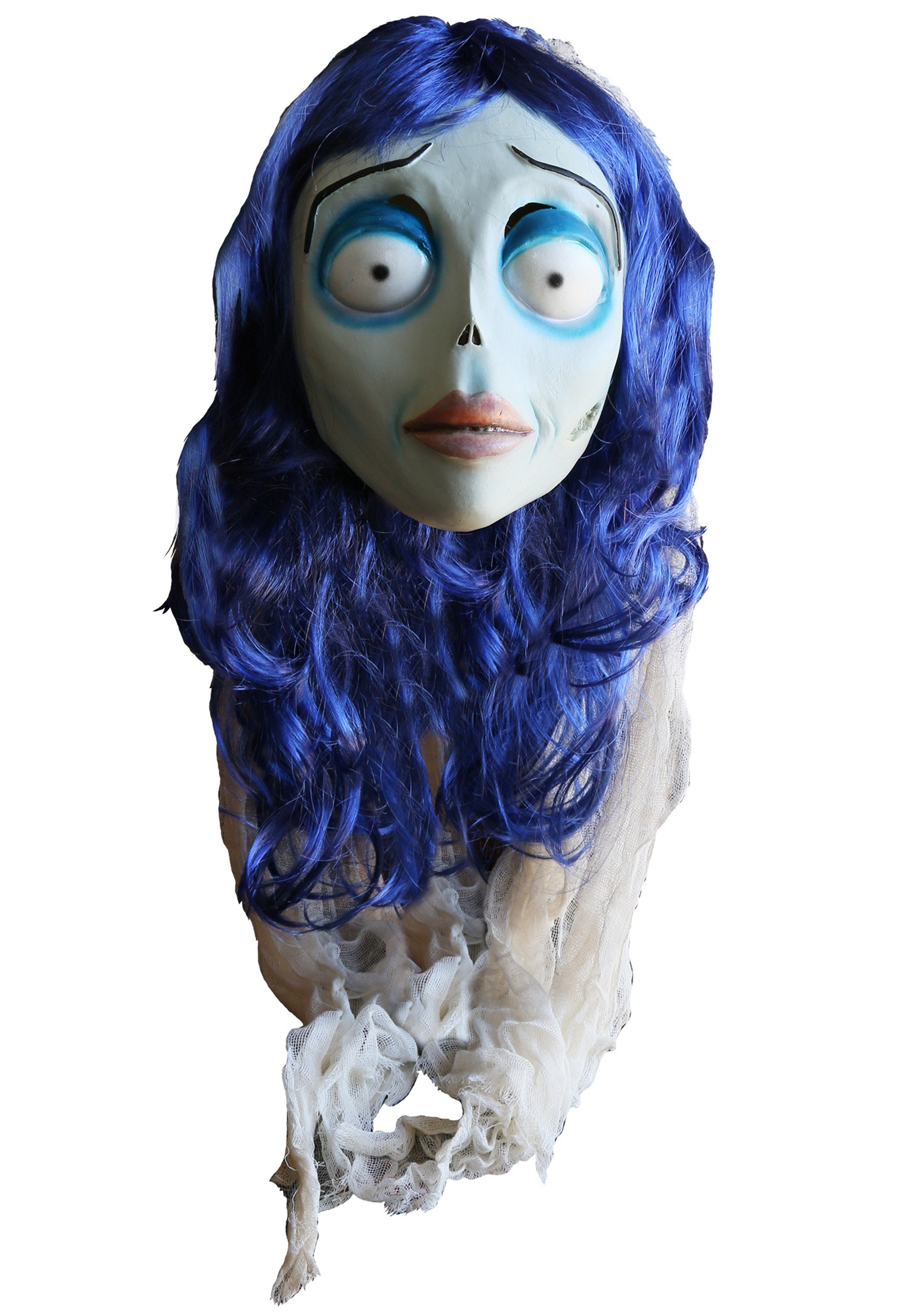 the corpse bride adult emily mask - The Corpse Bride Halloween Costume