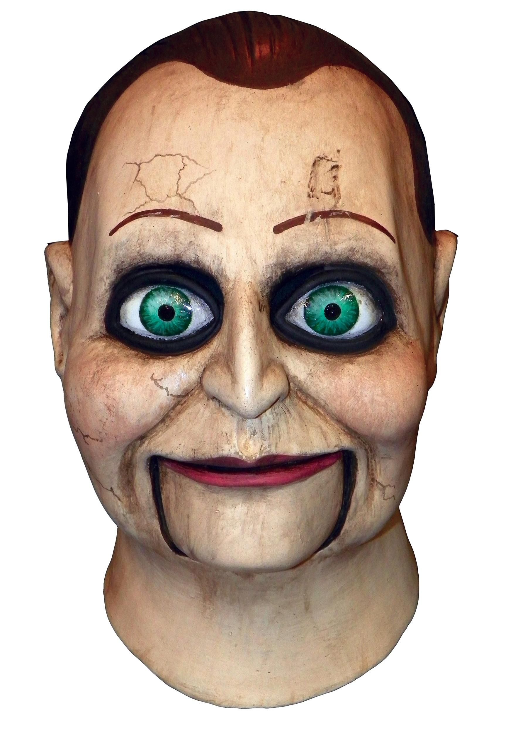 dead silence adult billy puppet mask - Puppet Halloween