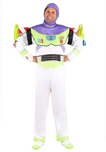 Click Here to buy Adult Deluxe Buzz Lightyear Costume from HalloweenCostumes, CDN Funds