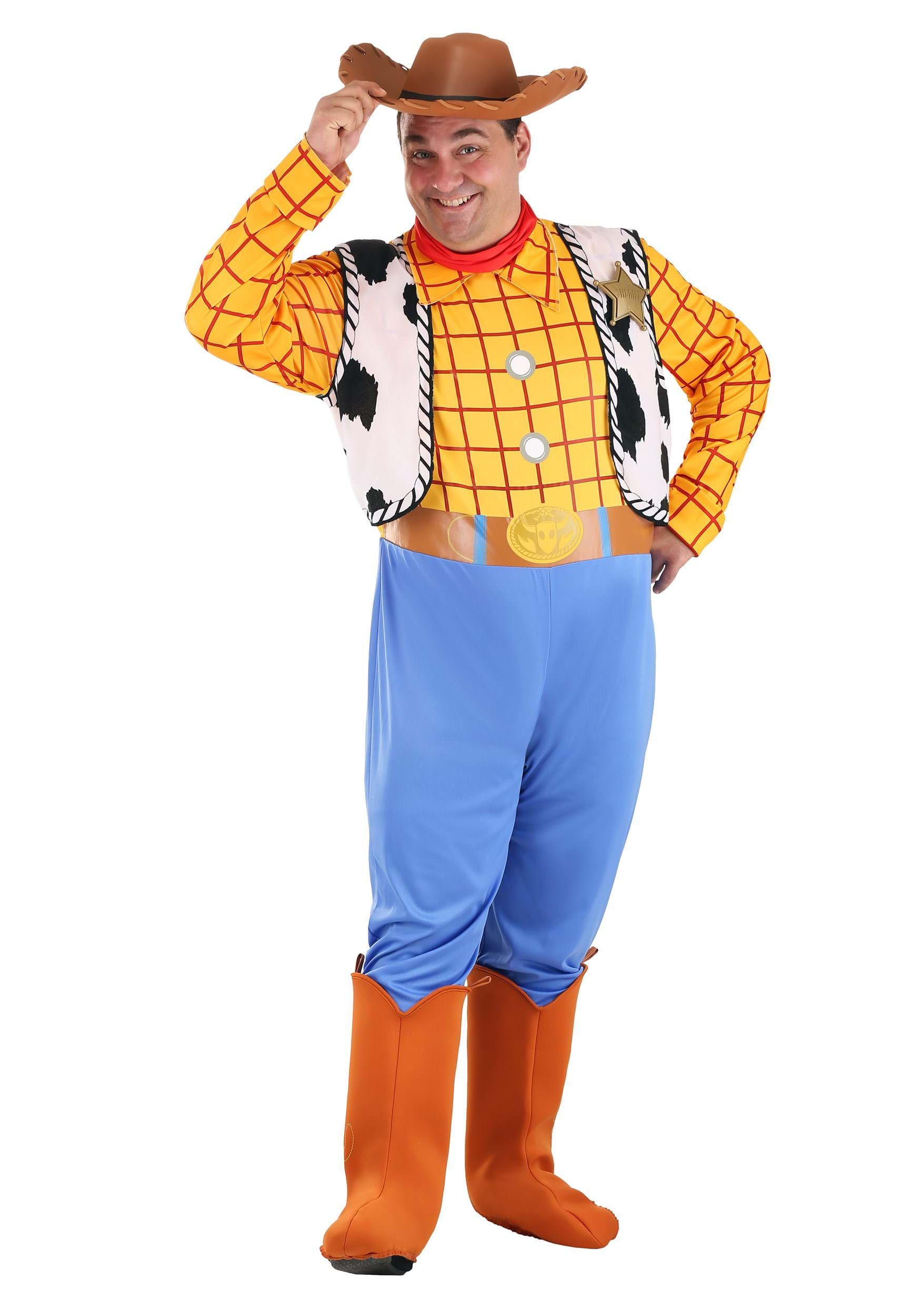 Toy story costumes adult kids disney halloween costume adult woody costume solutioingenieria Images