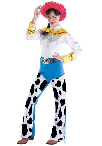 Click Here to buy Adult Toy Story Jessie Costume from HalloweenCostumes, CDN Funds