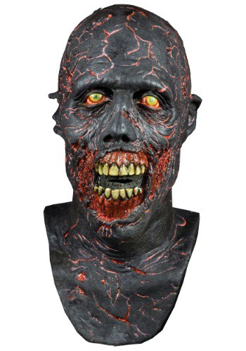 Click Here to buy The Walking Dead Charred Walker Mask from HalloweenCostumes, CDN Funds