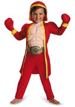 Toddler Boxer Muscle Costume