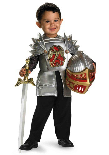 Toddler Knight Of The Dragon Costume