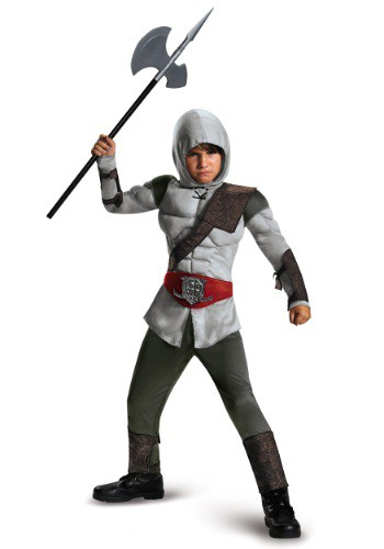 Click Here to buy Boys Assassin Muscle Costume from HalloweenCostumes, USA Funds & Shipping