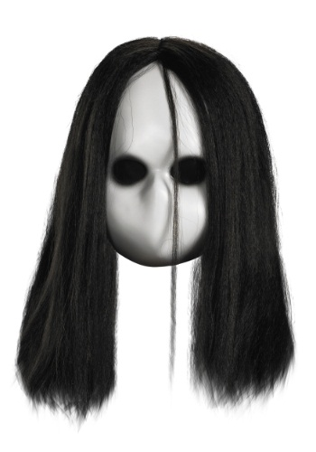 Adult Blank Black Eyes Doll Mask By: Disguise for the 2015 Costume season.
