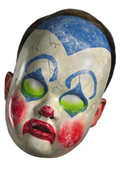 Adult Clown Doll Mask