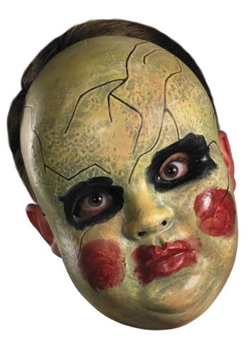 Adult Smeary Doll Face Mask By: Disguise for the 2015 Costume season.
