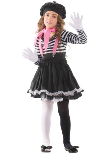 Click Here to buy Kids Mesmerizing Mime Costume from HalloweenCostumes, CDN Funds