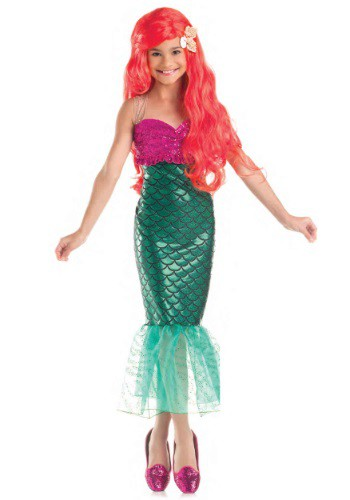 Image of Sweet Mermaid Child Costume
