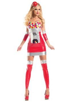 Women's Bubblegum Babe Costume